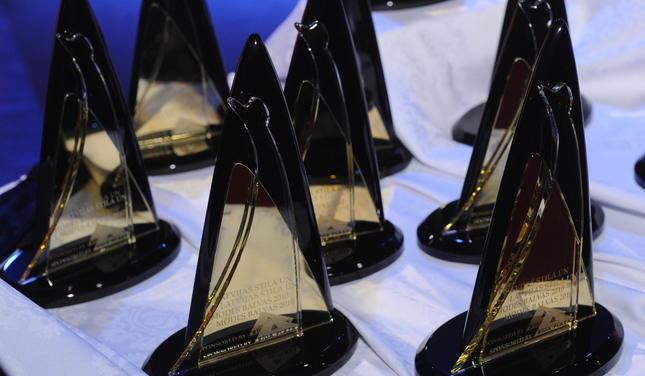 Лауреатам Латвийской Национальной Премии в области стиля и моды 2011 вручали такие статуэтки